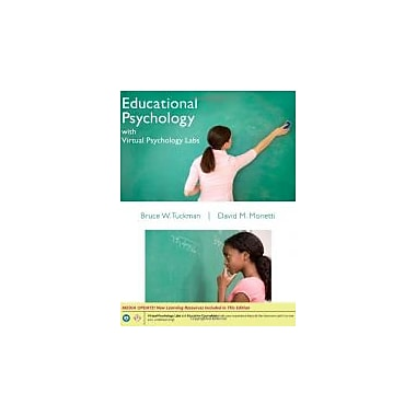 Educational Psychology w/Virtual Psychology Labs, New (9781133309260)