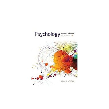 Psychology: Themes and Variations, Briefer Version, New Book (9781133939061)