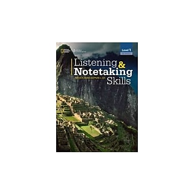 Listening & Notetaking Skills1 Student Book Intermediate, Used Book (9781133951148)