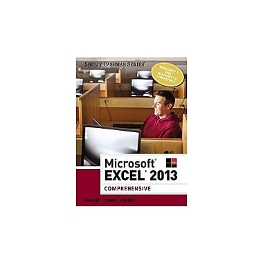 Microsoft Excel 2013: Comprehensive (Shelly Cashman), Used Book (9781285168432)