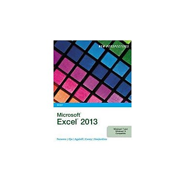 New Perspectives on Microsoft Excel 2013, Brief (New Perspectives (Course Technology Paperback)), New Book (9781285169392)