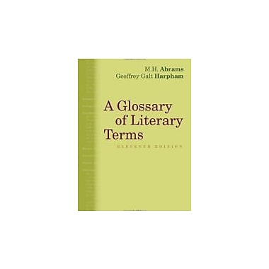 A Glossary of Literary Terms (1285465067)