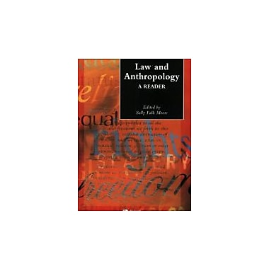 Law and Anthropology: A Reader, Used Book (9781405102285)
