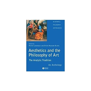 Aesthetics and the Philosophy of Art: The Analytic Tradition: An Anthology, New Book (9781405105828)