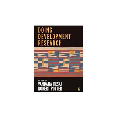 Doing Development Research, New Book (9781412902854)