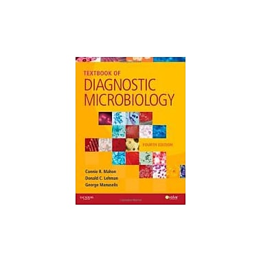 Textbook of Diagnostic Microbiology, 4e (Mahon, Textbook of Diagnostic Microbiology), Used Book (9781416061656)