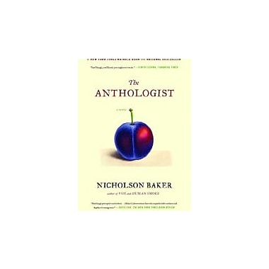 The Anthologist: A Novel, Used Book (9781416572459)