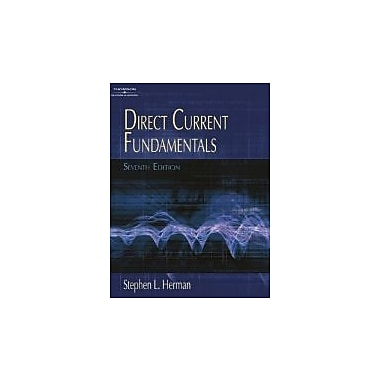 Direct Current Fundamentals, New Book (9781418000455)