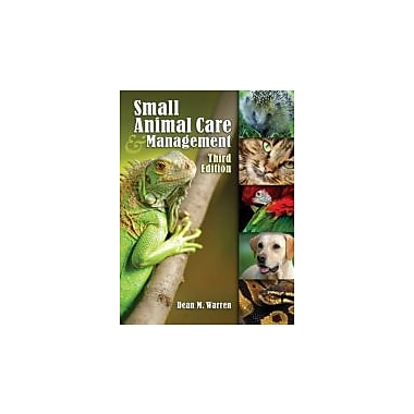 Small Animal Care and Management, New Book (9781418041052)
