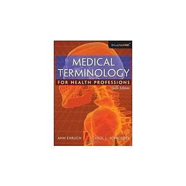Medical Terminology for Health Professions, Used Book (9781418072520)
