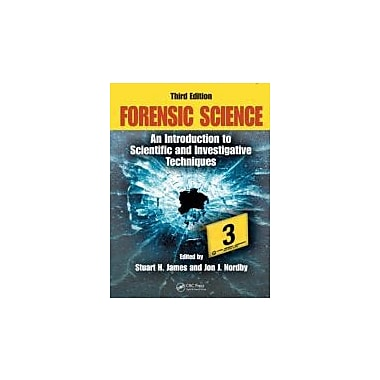 Forensic Science: An Introduction to Scientific & Investigative Techniques, 3rd Edition, New (9781420064933)