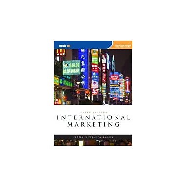 International Marketing, Used Book (9781426628467)