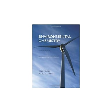 Environmental Chemistry, New Book (9781429201469)