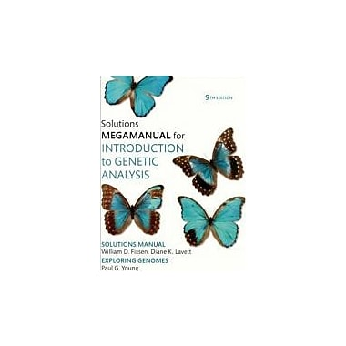 Introduction to Genetic Analysis Solutions MegaManual, New Book (9781429201773)