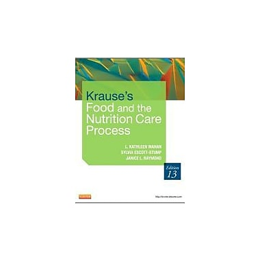 Krause's Food & the Nutrition Care Process, 13e (Krause's Food & Nutrition Therapy), Used Book (9781437722338)