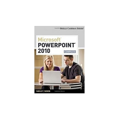 Microsoft PowerPoint 2010: Complete (Shelly Cashman Series? Office 2010), New Book (9781439078938)