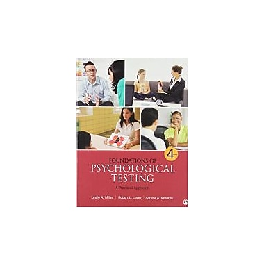 Foundations of Psychological Testing: A Practical Approach (1452219907)