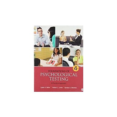 Foundations of Psychological Testing: A Practical Approach, New Book, (1452219907)