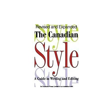 The Canadian Style, New Book (9781550022766)