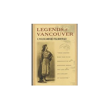 Legends of Vancouver, New Book (9781550545531)
