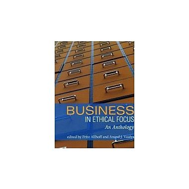 Business in Ethical Focus: An Anthology, New Book (9781551116617)