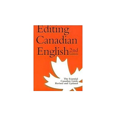 Editing Canadian English, 2nd Edition, New Book (9781551990453)