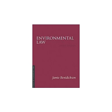 Environmental Law (Essentials of Canadian Law), New Book (9781552211311)