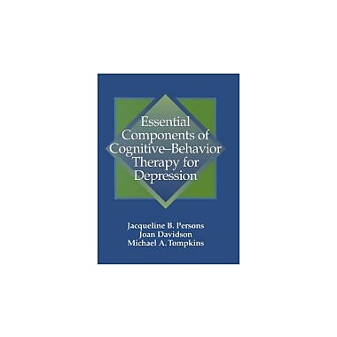 Essential Components of Cognitive-Behavior Therapy for Depression