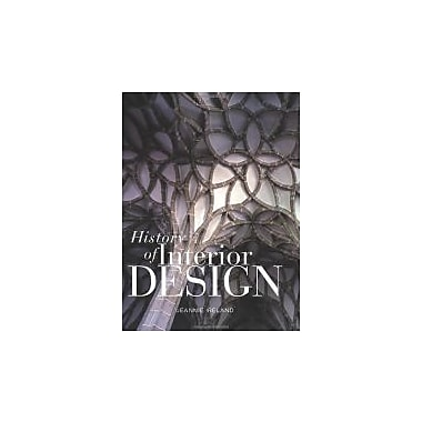History of Interior Design, New Book (9781563674624)