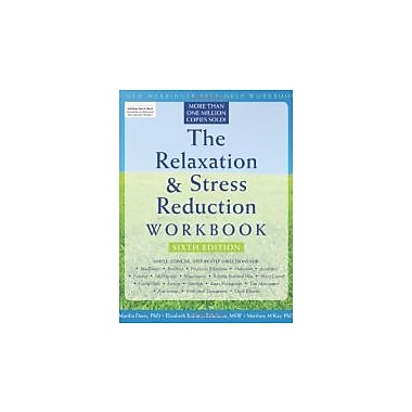 The Relaxation and Stress Reduction Workbook (New Harbinger Self-Help Workbook), New Book (9781572245495)