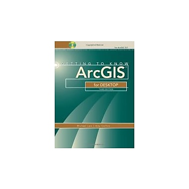 Getting to Know ArcGIS for Desktop, New Book (9781589483088)