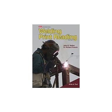 Welding Print Reading, New Book (9781605259116)