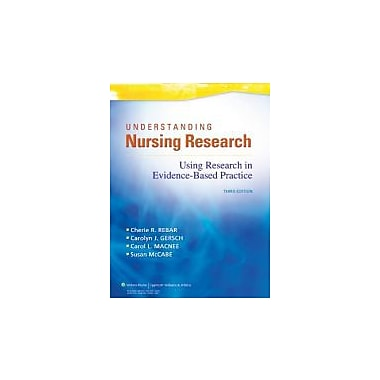 Understanding Nursing Research: Using Research in Evidence-Based Practice, Used Book (9781605477305)