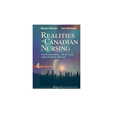 Realities of Canadian Nursing, New Book (9781609136871)