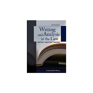 Shapo, Walter and Fajans' Writing and Analysis in the Law, 6th (University Casebook Series)