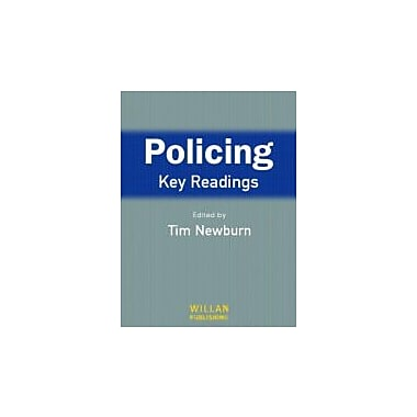 Policing: Key Readings, New Book (9781843920915)