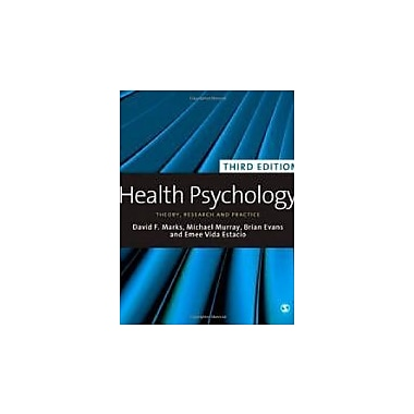 Health Psychology: Theory, Research and Practice, New Book (9781848606227)