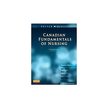 Canadian Fundamentals of Nursing, 5e [Hardcover], New Book (9781926648538)