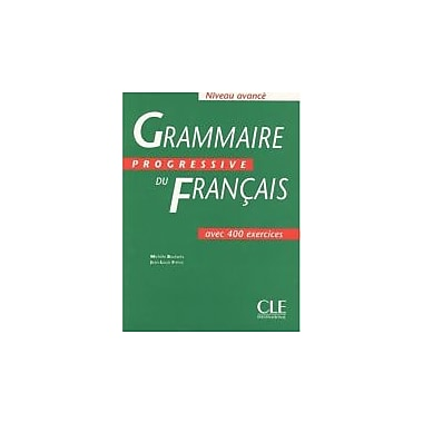 Grammaire Progressive du Francais: Niveau Avanca (French Edition), Used Book (9782090338621)