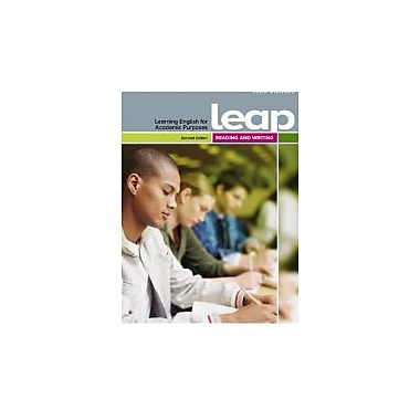 LEAP (Learning English for Academic Purposes) Reading and Writing (2nd Edition), New Book (9782761341455)