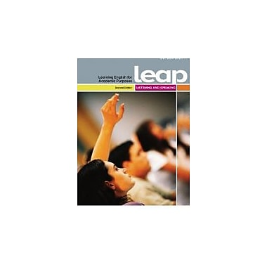 LEAP (Learning English for Academic Purposes) Listening and Speaking (2nd Edition), New Book (9782761345835)