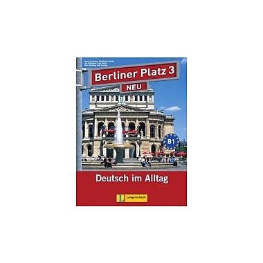 Berliner Platz Neu: Lehr- Und Arbeitsbuch 3 MIT 2 Cds Und Treffpunkt D-A-Ch landeskundeheft, German Ed., Used (9783468472442)