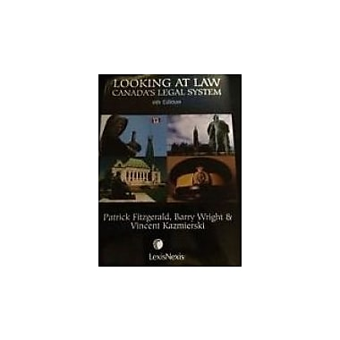 Looking At Law Canada's Legal System, 6th Edition, Used Book (978B0050672K8)