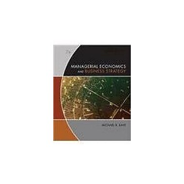 Managerial Economics and Business Strategy, Used Book (978B007YXPEE5)