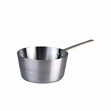 Browne 58 13901, 1-1/2 qt Aluminum Standard Weight Tapered Sauce Pan