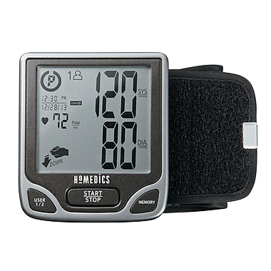 Homedics Deluxe Automatic Wrist Blood Pressure Monitor