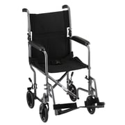 "Nova Medical Products Steel Transport Chair 40.5"" x 22"""