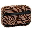 "Nova Medical Products Polyester Mobility Handbag 6.5"" x 10"", Chocolate Zebra"