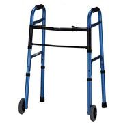 """Nova Medical Products Aluminum Folding Walker 32"""" - 38"""" x 23"""""""