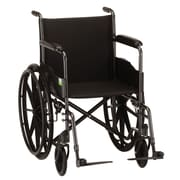 Nova Medical Products Hammertone Wheelchair Fixed Arms and Footrests 18""
